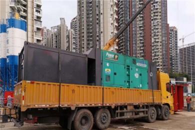 高明回收发电机租赁服务